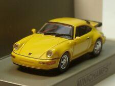 Minichamps Porsche 911 Turbo (964), 1990, gelb - 870 069102 - 1:87