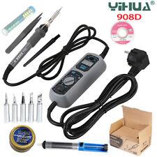 YIHUA908D Electric Soldering Iron Temperature Adjustable Welding Repair Tool Tip