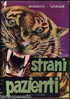 Animali - STRANI PAZIENTI - HENDERSON, TAPLINGER - BALDINI E CASTOLDI 1954