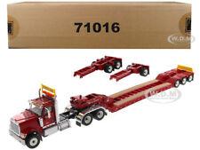 INTERNATIONAL HX520 RED XL 120 LOWBOY TRAILER 1/50 BY DIECAST MASTERS 71016