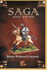 GB Saga: Aetius & Arthur: 28mm metal Briton Warband Starter (4 points) NEW