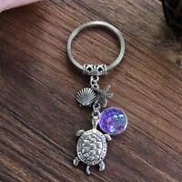 Gift Key Handmade Multicolor Supplies Pendant Turtle Key Chain Fish Scale