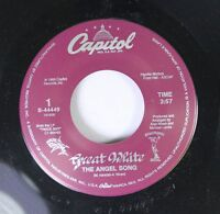 Rock 45 Great White - The Angel Song / Run Away On Capitol