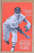 Vintage 1965 Chicago White Sox vs Minnesota Twins Program, 50 Pages, Superb