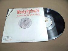 VINYL ALBUM RECORD,MONTY PYTHONS CONTRACTUAL OBLIGATION ALBUM, AL-9536