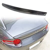 Carbon Fiber Mazda MX5 ND Miata Convertible D Style Rear Trunk Spoiler Boot 18+