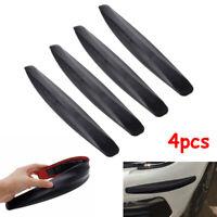 4pcs Universal Black Front & Heckstoßstange Eckenschutzleiste Scratch Sticker N