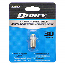 Dorcy 30-Lumen 3-Volt LED Replacement Bulb with 10-year Lifespan, 41-1643