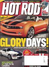Hot Rod Magazine May 2007 Hot Rod Television, Glory Days '09 Camaro Convertible