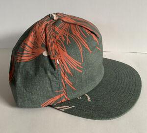 NEW Brixton Henshaw Cap Green/Rust ~ Brixton Snapback Hat