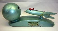 Vintage Strato Rocket Mechanical Bank - The Bank Of Salem - Salem, Va