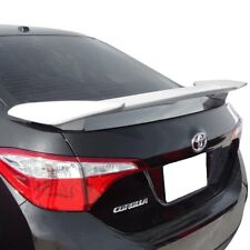 For Toyota Corolla 14-19 T5i Custom Style Rear Spoiler w Light Unpainted