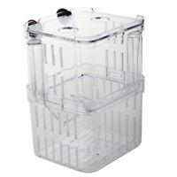 Clear Plastic Seperate Fish Fry Breeding Divider Tank for Aquarium F7X1