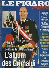 """LE FIGARO MAGAZINE """"MARS 1997""""--ALBUM DES GRIMALDI / CENT ANS DE PHOTOS INTIMES"""