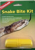 SNAKE BITE KIT CAMPING EMERGENCY SURVIVAL FIRST AID VENOM STING EXTRACTOR!