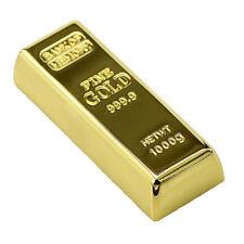 16GO USB 2.0 Clé USB Clef Mémoire Flash USB / Gold Bar Métal