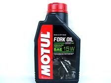 1Liter Motul Fork Oil Expert Medium SAE 15W Gabelöl Motorrad Öl Dämpfungsöl NEU
