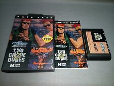JUEGO- TWO CRUDE DUDES - SEGA GENESIS - CA95125 1992 -- DATA EAST