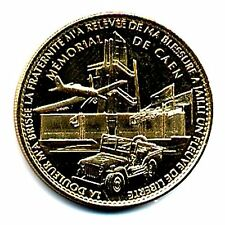 14 CAEN Mémorial, Jeep et avion, Sans date, Arthus-Bertrand