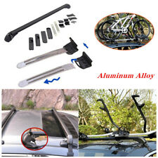 2PCS Car SUV Roof Rail Luggage Rack Baggage Carrier Cross Aluminum Universal Kit
