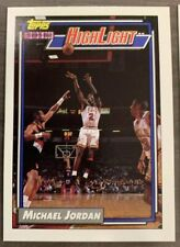 1991-92 Topps NBA Michael Jordan Highlight Chicago Bulls (#3) NM