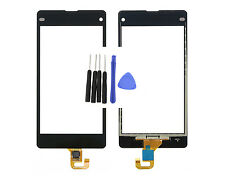 Front Touch Screen Digitizer Glass For Sony Xperia Z1 mini Compact D5503 Black T