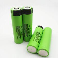 4pcs Original Genuine Battery for PANASONIC NCR18650B 3.7V 3400mAh Made In Japan
