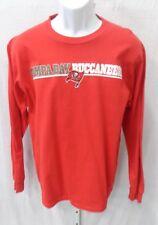 Tampa Bay Buccaneers Football Long Sleeve Shirt Red Medium New 972b85410