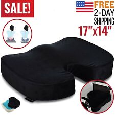 Memory Foam Office Chair Cushion Car Seat Pillow Coccyx Orthopedic Pain Relief