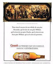 Publicité Advertising 1994 Scotch Whisky William Grant's