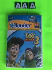 V Tech V reader Disney Toy Story 3 Learning System Software Game New & Sealed