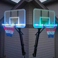 Hoop Light LED Lit Basketball Rim Attachment Helps You Shoot Hoops At Night Lamp