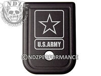 for Glock Magazine Plate 17 19 22 23 26 27 34 35 9mm 40cal US ARMY Emblem