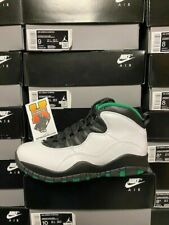 2019 Nike Air Jordan 10 SEATTLE Retro Green 310805-137 NEW MEN SZ: 4y-13