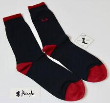 PRINGLE Block Navy Red Socks UK: 7-11 EUR: 40-46