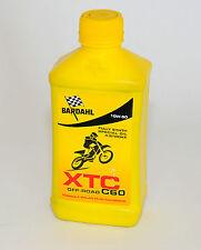 BARDAHL Olio moto 4 tempi XTC C60 OFF-ROAD 10W50 1lt formula PolarPlus Fullerene