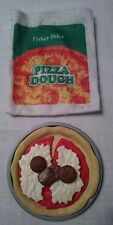 Fisher Price Fun with Food MAKE A PIZZA DOUGH BAG SAUCE CHEESE PEPPERONI VGC