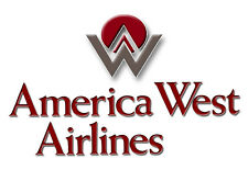"""America West Airlines Logo Fridge Magnet 3.25""""x2.25"""" Collectibles (LM14012)"""