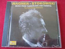 WAGNER: TANNHAUSER/PARSIFAL - STOKOWSKI -PHILADELPHIA ORCH. - PEARL (CD 1990 UK)