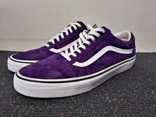 Vans Old Skool Scotchgard 3M Protector Suede - Purple / White - Men's Size 10.5