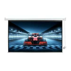 Homegear 100in 16:9 HD/3D Electric Motorised Projector Screen And Remote Control