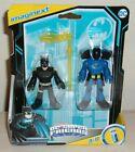 DC Super Friends Imaginext BATMAN & ROOKIE Action Figure Set 2 Sealed New 2021 For Sale