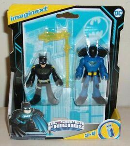DC Super Friends Imaginext BATMAN & ROOKIE Action Figure Set 2 Sealed New 2021