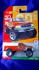 Hot Wheels Ford F-150 Truck Throwback Decades 50th Anniversery #9/10 Exclusive