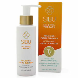 SIBU Polishing Facial Cleanser, Remove make-up, oily residue, dirt and grime 4oz