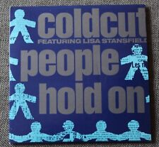 Coldcut featuring Lisa Stansfield, people hold on, Maxi CD card sleeve