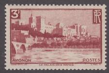 France 1938 #344 Palace of the Popes, Avignon - MNH