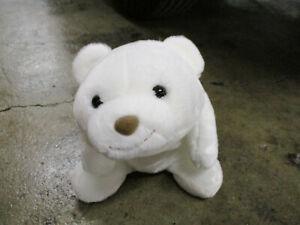 "Gund Snuffles White Polar Teddy Bear Plush 11"" Vtg SO SOFT Stuffed Animal Toy"