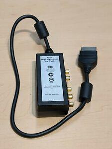 Microsoft Xbox High Definition AV Pack (HD Audio Video RCA Component) Clean!!