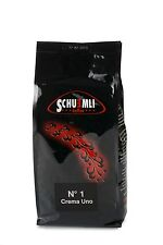SCHUEMLI N°1 Crema Uno  - Kaffee schweizer Art (1 kg  in ganzen Bohnen)